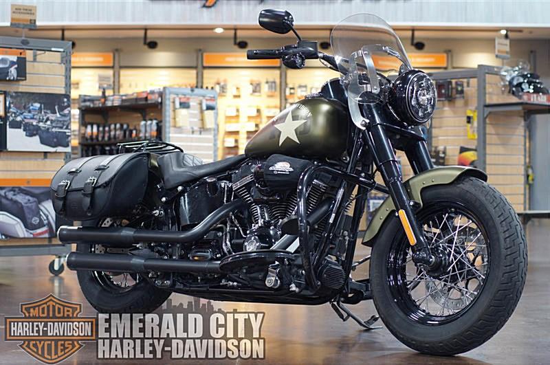 Photo of a 2016 Harley-Davidson® FLS Softail® Slim® S
