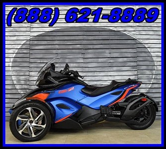 Used 2015 Can-Am Spyder® F3-S SM6