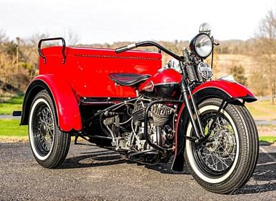 Used 1940 Harley-Davidson® Servi-Car with tow bar