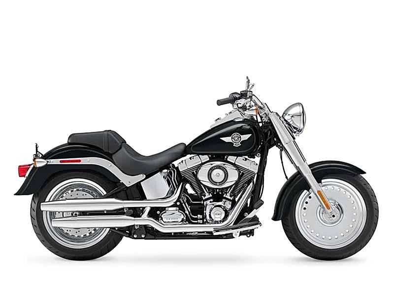 Photo of a 2015 Harley-Davidson® FLSTF	 Softail® Fat Boy®