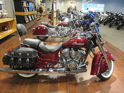 New 2018 Indian® Chief® Classic