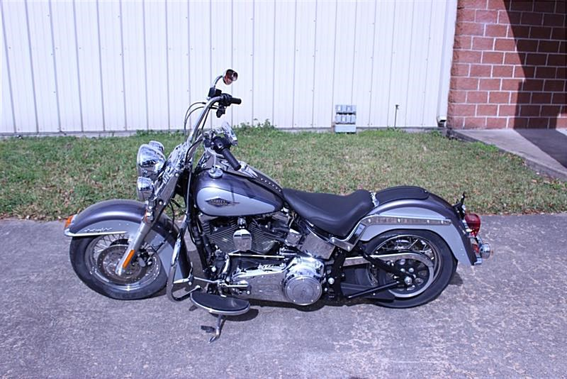 Photo of a 2014 Harley-Davidson® FLSTC Heritage Softail® Classic