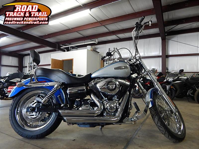2010 Harley Davidson Dyna Super Glide Custom Fxdc: 2010 Harley-Davidson® FXDC Dyna® Super Glide® Custom (Blue