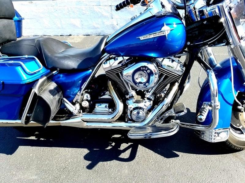 2005 Harley Davidson 174 Flhrs I Road King 174 Custom Blue
