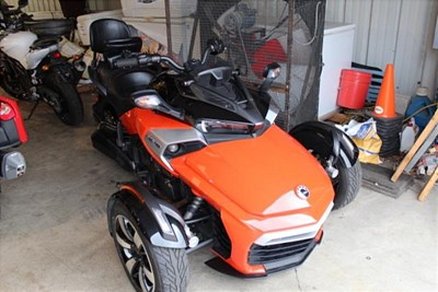 Used 2015 Can-Am Spyder F3-S SE6