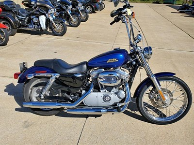 Used 2007 Harley-Davidson® Sportster® 883 Custom Patriot Special Edition