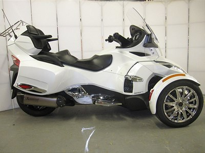 Used 2018 Can-Am Spyder RT Limited SE6