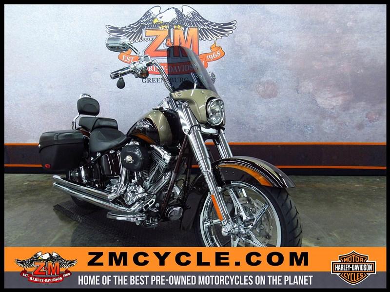 Photo of a 2011 Harley-Davidson® FLSTSE2 CVO™ Softail® Convertible