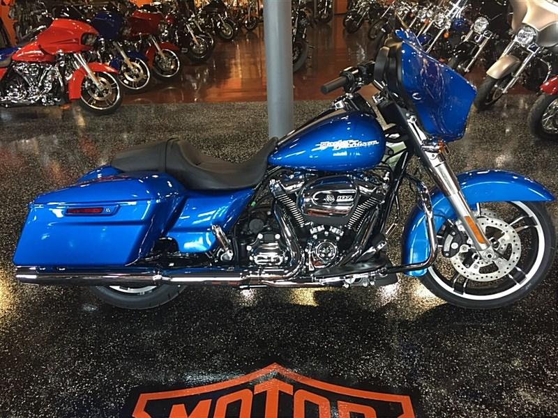 2018 Harley Davidson 174 Flhx Street Glide 174 Electric Blue