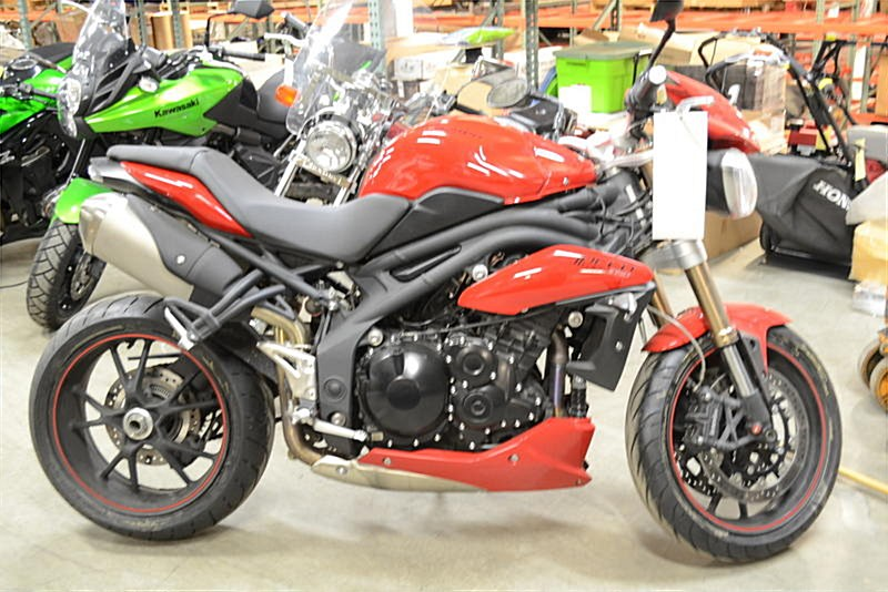 Photo of a 2015 Triumph  Speed Triple