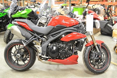 Used 2015 Triumph Speed Triple