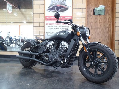 Used 2018 Indian® Motorcycle Scout® Bobber