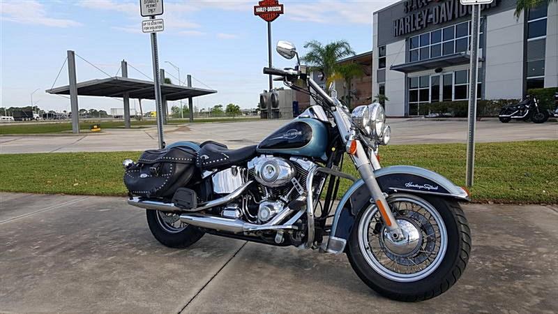 Photo of a 2008 Harley-Davidson® FLSTC Heritage Softail® Classic