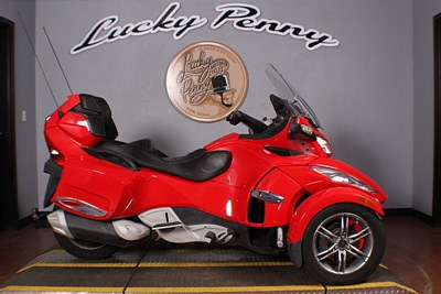 Used 2012 Can-Am Spyder RS