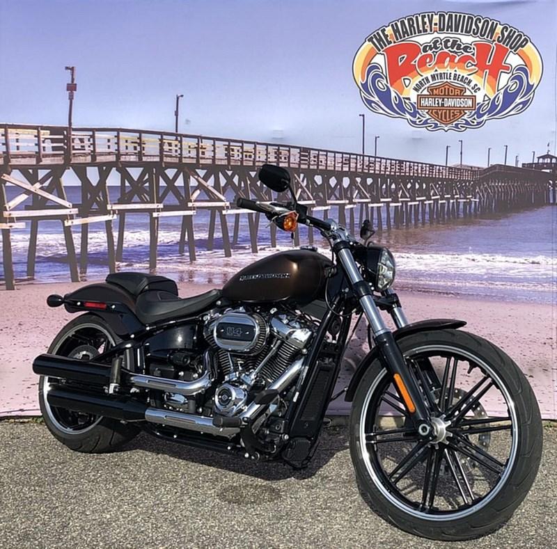 Photo of a 2019 Harley-Davidson® FXBRS Softail® Breakout® 114