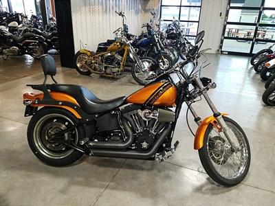 2007 Harley DavidsonR FXSTB SoftailR Night TrainR