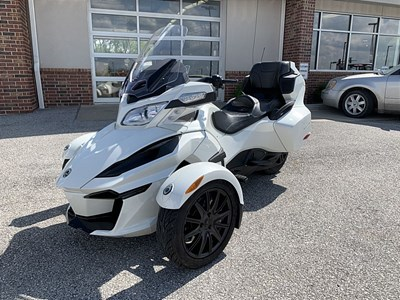 Used 2018 Can-Am Spyder RT SE6
