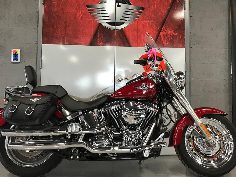Photo of a 2016 Harley-Davidson® FLSTF Softail® Fat Boy®