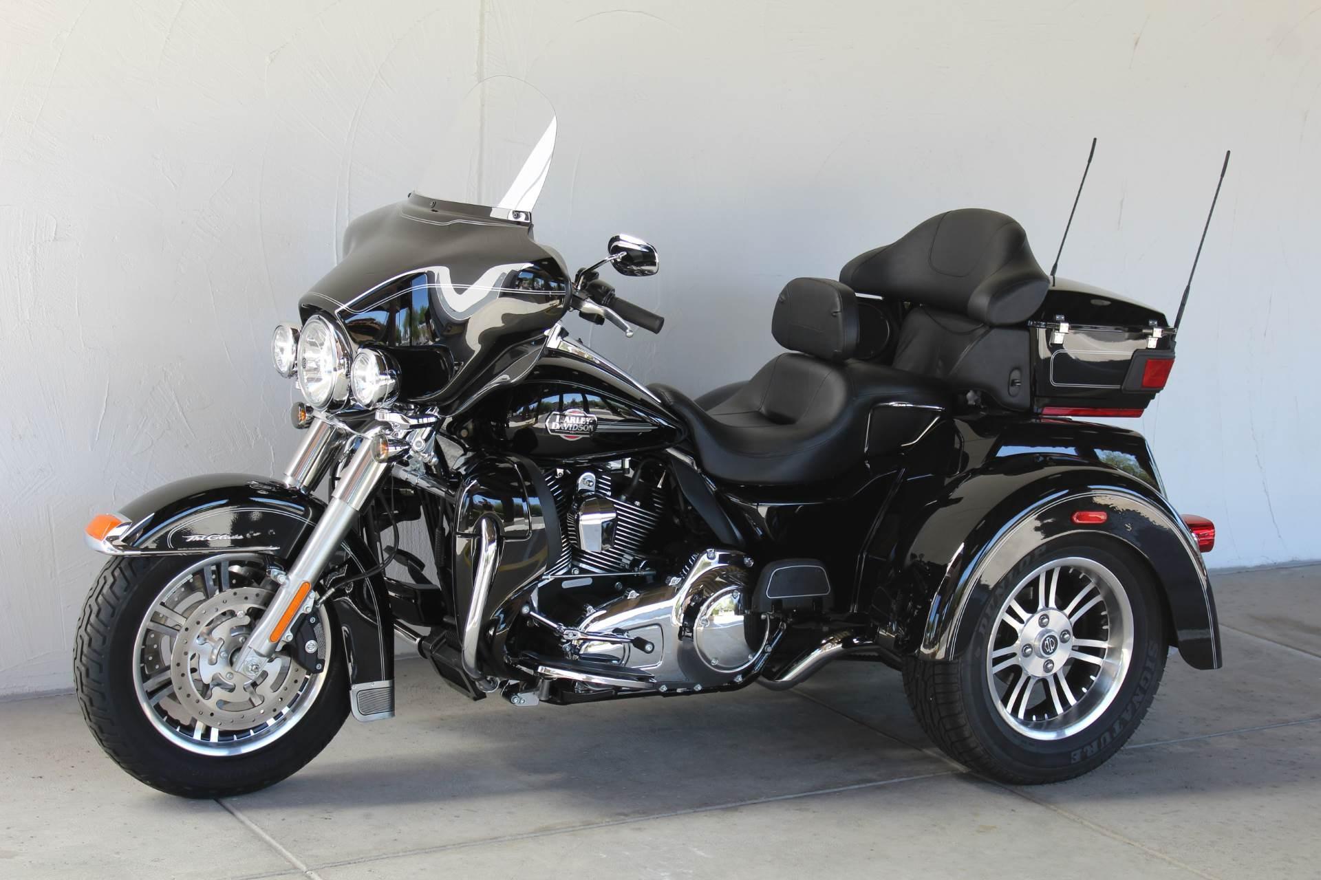 2013 Harley Davidson Flhtcutg Tri Glide Ultra Classic Review: 2013 Harley-Davidson® FLHTCUTG Tri Glide™ Ultra Classic