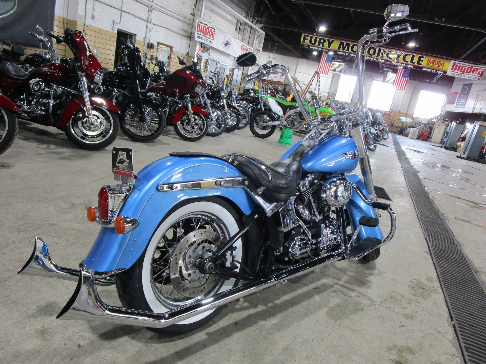 Fury Motors South St Paul >> 2011 Harley Davidson Flstn Softail Deluxe