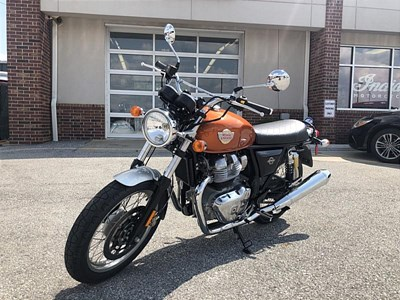 New 2019 Royal Enfield Int650 Silver
