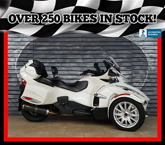 Used 2014 Can-Am Spyder RT-S SM6