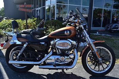 Used 2008 Harley-Davidson® Sportster® 1200 Low Anniversary
