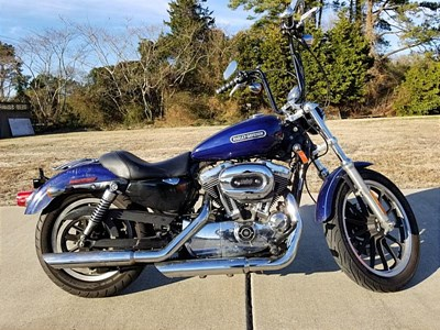 Used 2007 Harley-Davidson® Sportster® 1200 Low Patriot Special Edition