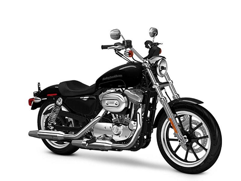 2018 Harley Davidson Xl883l Sportster Superlow Vivid Black