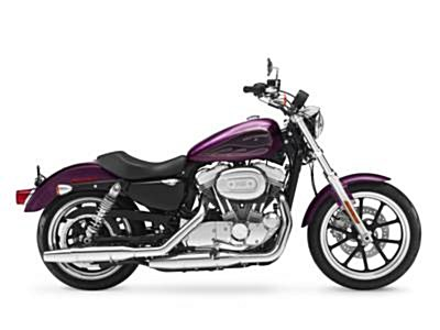 Photo of a 2017 Harley-Davidson® XL883L Sportster® SuperLow®