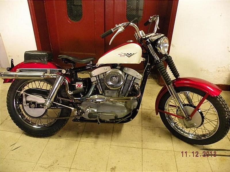 Photo of a 1959 Harley-Davidson® XLCH Sportster® Super CH