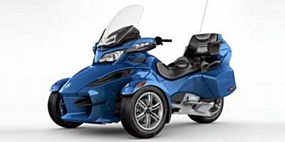 Used 2010 Can-Am Spyder RT Audio & Convenience
