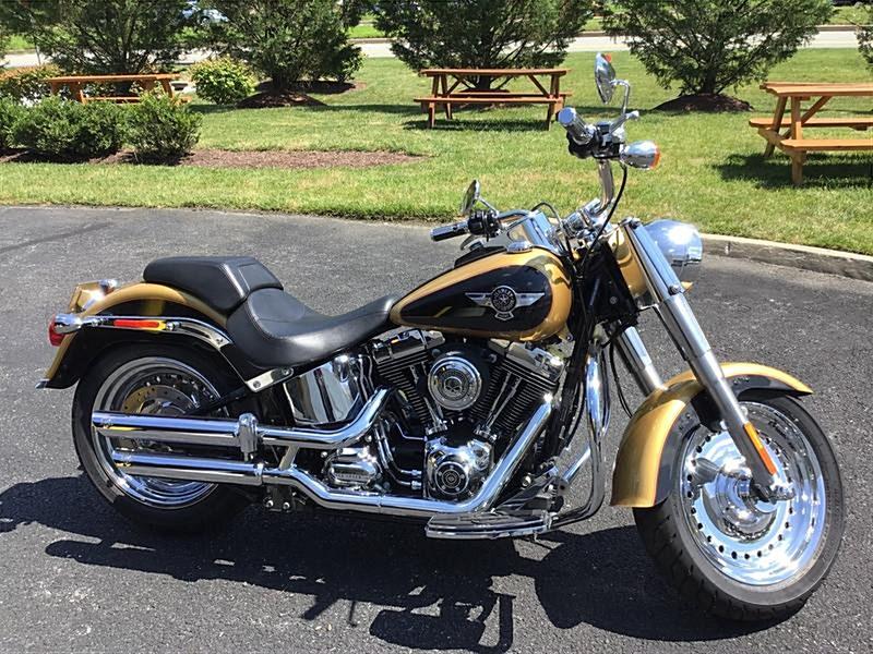 Photo of a 2017 Harley-Davidson® FLSTF Softail® Fat Boy®