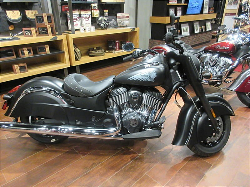 Photo of a 2018 Indian®  Chief Dark Horse®