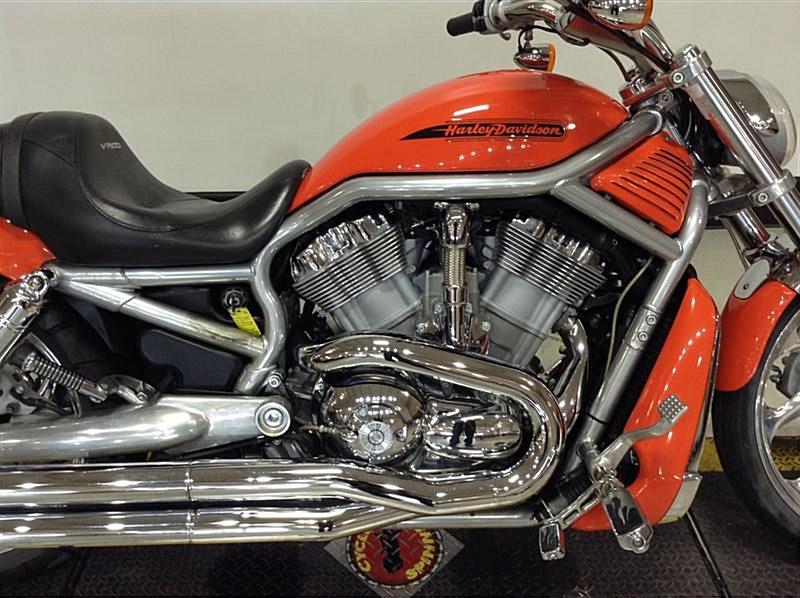 Photo Of A 2008 Harley DavidsonR VRSCAW V RodR