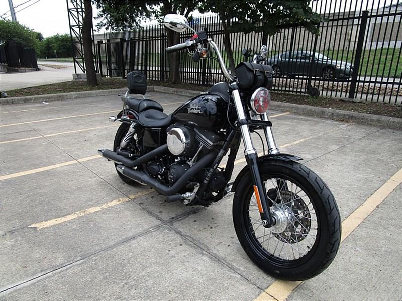 2015 Harley Davidson 174 Fxdb Dyna 174 Street Bob 174 Black San