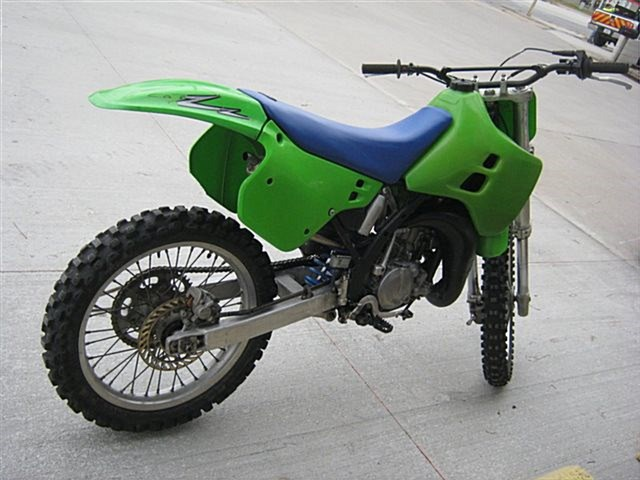 Photo of a 1990 Kawasaki KX125-H1