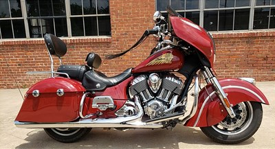 Used 2015 Indian® Motorcycle Chieftain®