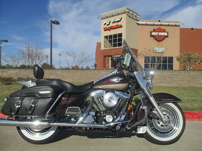 1998 harley davidson flhrc i road king classic red champagne 95th anniversary rogers. Black Bedroom Furniture Sets. Home Design Ideas