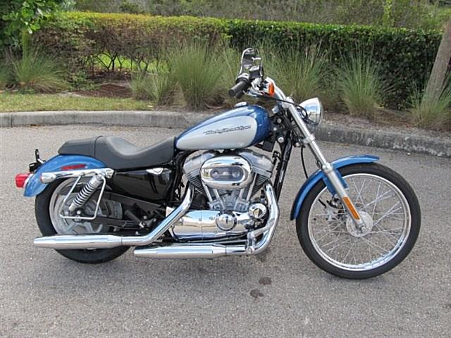 Photo of a 2005 Harley-Davidson® XL883C Sportster® 883 Custom