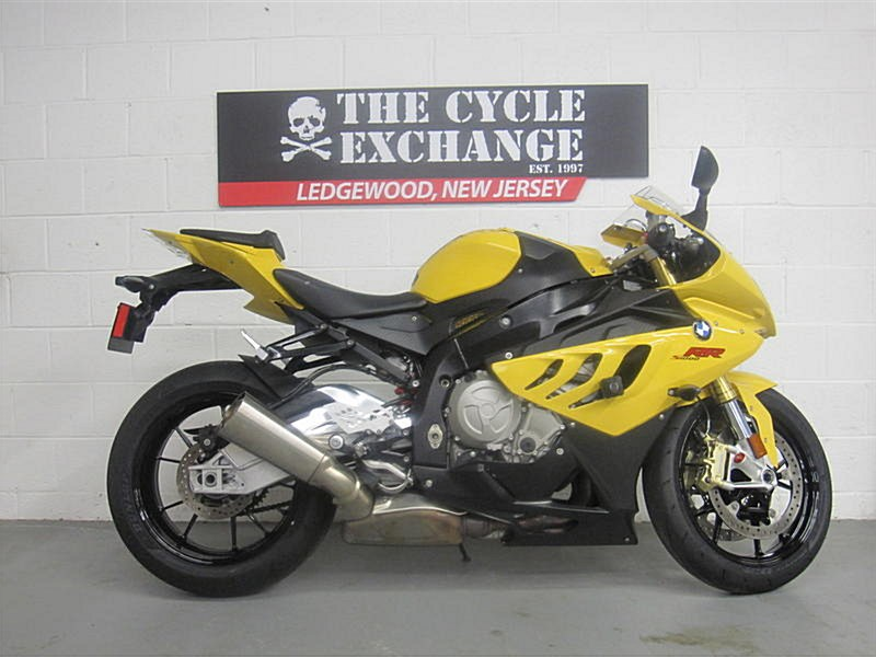 2011 Bmw S1000rr Yellow Andover New Jersey 944549 Cyclecrunch