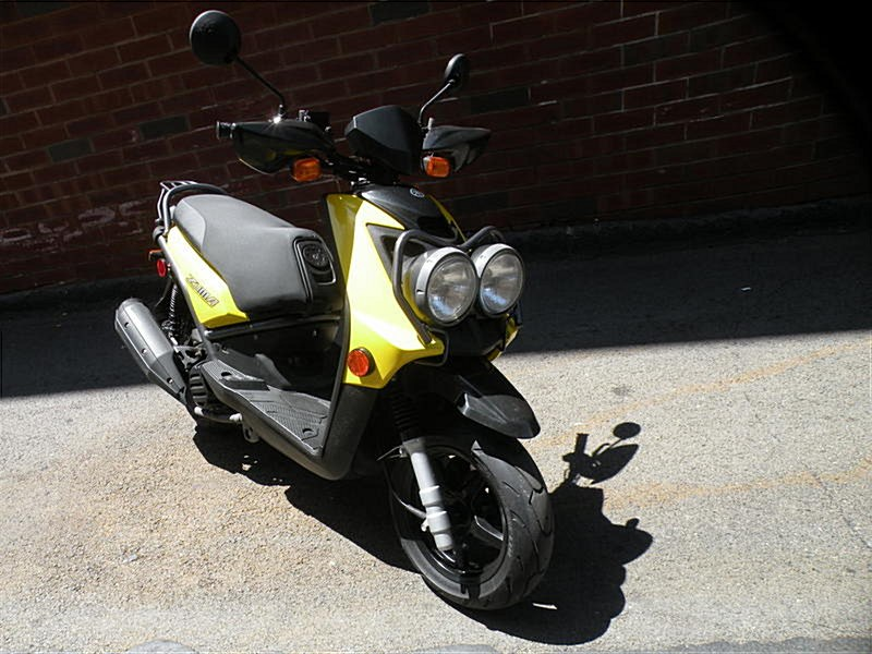 Photo of a 2009 Yamaha YW125  Zuma 125