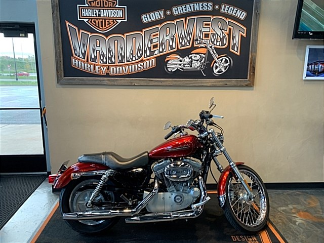 Photo of a 2009 Harley-Davidson® XL883C Sportster® 883 Custom