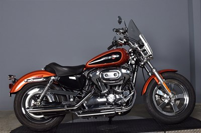 Used 2011 Harley-Davidson® Sportster® 1200 Custom Police