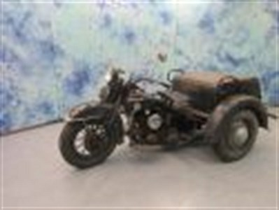 Used 1957 Harley-Davidson® Servi-Car with tow bar