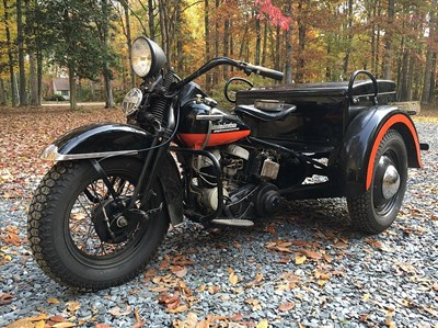 Used 1951 Harley-Davidson® Servi-Car without tow bar