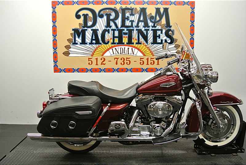 2001 Harley Davidson Flhrc Road King Classic Luxury Rich Red
