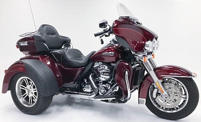 2016 Harley Davidson Flhtcutg: 2016 Harley-Davidson® FLHTCUTG Tri Glide® Ultra (Red