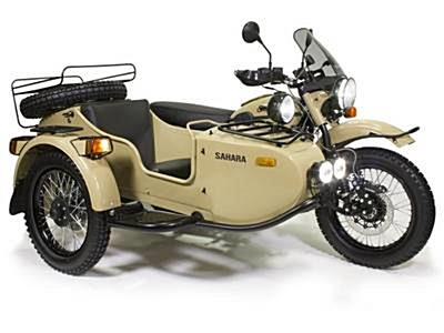 New 2018 Ural  Gear-Up Sahara w/Sidecar