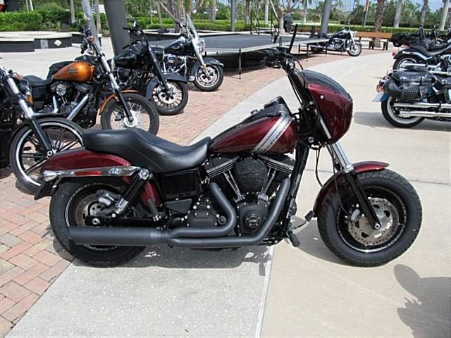 Photo of a 2015 Harley-Davidson® FXDF Dyna® Fat Bob®